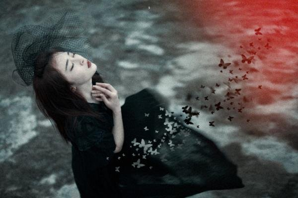一个人心灵受伤的说说 关于爱情简单的伤感句子