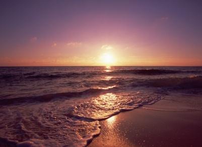 《天堂夕阳》